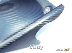 Aprilia Rsv4 & Tuono V4 Carbon Rear Hugger Mudguard In Twill Matt Weave Fibre