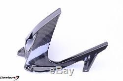 BMW S1000RR 2009 2016 100% Carbon Fiber Rear Hugger Mudguard Chain Guard Twill