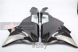 BMW S1000RR 2015 2018 Belly Panels Side Fairing Full Carbon Fiber 100% Twill