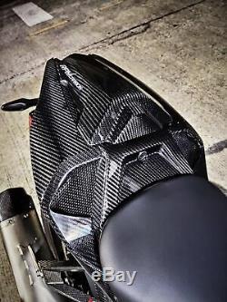 BMW S1000RR 2019+ Carbon Fiber Rear Seat Pillion Cover Glossy Twill RPM Carbon