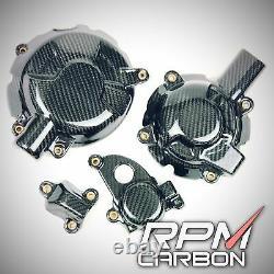 BMW S1000RR 2020+ Carbon Fiber Engine Cover Set