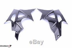 BMW S1000RR Carbon Fiber Belly Pans (L+R), 09-14 Twill Weave By Bestem SYDNEY