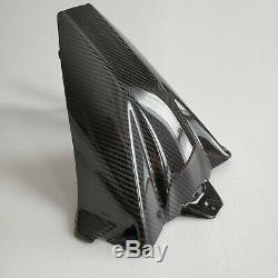 BMW S1000RR/S1000R Carbon Fiber Rear Fender Mudguard Hugger Glossy twill