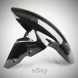 BMW S1000RR / S1000R / S1000XR Carbon Fiber Front Fender Glossy Twill