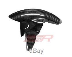 BMW S1000RR/S1000R/S1000XR Front Fender Mudguard Fairing 100% Twill Carbon Fiber