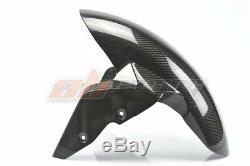 BMW S1000XR Front Fender Hugger Fender Mudguard Full Carbon Fiber 100% Twill