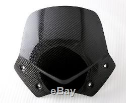 BMW Windscreen Genuine Twill Carbon Fiber Wind Protector Windshield R1200R G650X