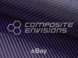 Blue Mirage Carbon Fiber Fabric 2x2 Twill 50 3k 8.6oz HD Remnant Roll 416