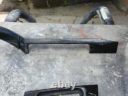 Bmw E46 REAL CARBON FIBRE TWILL DASH INSERT TRIM AND DOOR INSERTS TRIM