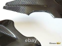 Bmw S1000rr 09-2014 Carbon Frame Protectors In Twill Gloss Weave Fibre'2nds