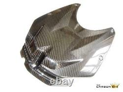 Bmw S1000rr 2009-2011 Carbon Tank Cover In Gloss Twill Weave Petrol Fibre Hp4