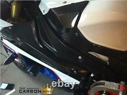 Bmw S1000rr 2009-2014 Carbon Fibre Petrol Tank Lower Side Panels In Twill Weave