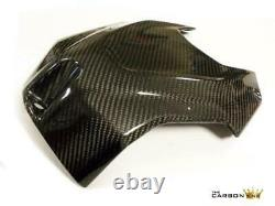 Bmw S1000rr 2019 On Carbon Fibre Tank Cover In Twill Gloss Weave Fiber