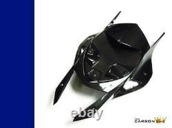 Bmw S1000rr Carbon Rear Undertray 2012-14 In Twill Gloss Weave Fiber Fibre