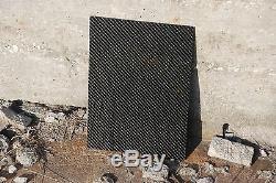 Carbon Fiber 6mm A3 Sheet 100% Carbon x1 Twill weave Finland