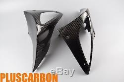 Carbon Fiber BMW R1100S/Boxer Cup Turn Signal Corners Twill Carbon Fiber Glossy