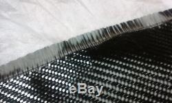 Carbon Fiber Cloth Fabric 5.7oz 2x2 Twill 20 Width High Mod Full Roll Free Ship