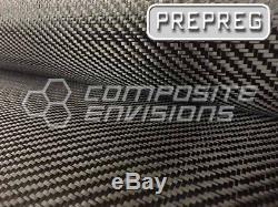 Carbon Fiber Fabric 2x2 Twill 50 3k 6oz 203.436gsm AS4 PREPREG-5-Yards