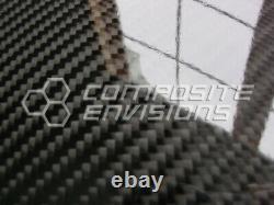 Carbon Fiber Panel. 012/. 3mm 2x2 Twill EPOXY-24 x 24