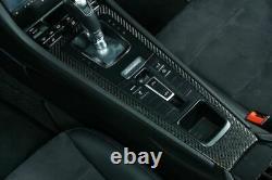 Carbon Fiber Shift Panel Porsche 991 Carrera, 981/982 Cayman & Boxster Twill