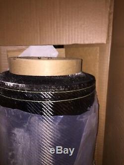 Carbon fiber fabric 35 Yard roll Brand New Twill 2X2 50 205GSM T300 3K NT CCF