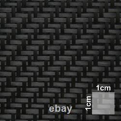 Carbongewebe Köper 160 g/m² HP-T160C Modellbau twill Cfk carbonfibre Epoxi