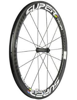 Ceramic Bearing Hub Carbon Wheels 50mm Depth Road Bike Carbon Wheelset 12k Twill