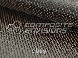 Copper Mirage Carbon Fiber Cloth Fabric 2x2 Twill 50 3k 290gsm 8.6oz HD