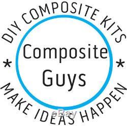 DIY 2X2 TWILL CARBON FIBER BUILDING KIT 24 x 50 COMPOSITE GUYS