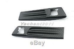 DRY Carbon Fender Emblem Cover LOGO Twill Matte Fit For 08-13 Nissan R35 GTR