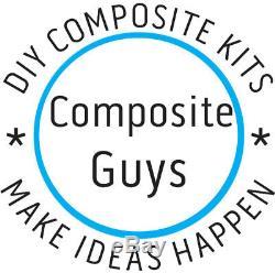 Diy Carbon Fiber 24 X 50 Composites Laminating Skinning Starter Kit 2x2 Twill