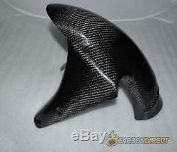 Ducati 748 916 996 998 Carbon Fiber Front Fender Mudguard Supersport Fiber Twill