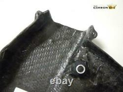 Ducati 848 1098 1198 Carbon Cambelt Covers In Twill Gloss Weave Fibre Cam Belt