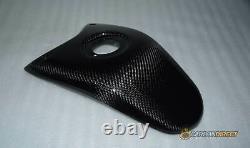 Ducati Hypermotard 796 1100 Carbon Fibre Tank Cover Panel Twill Pattern Gloss