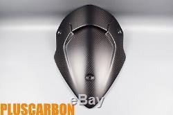 Ducati Multistrada 1200 / 950 Front Fairing Screen Carbon Fiber Twill Matt