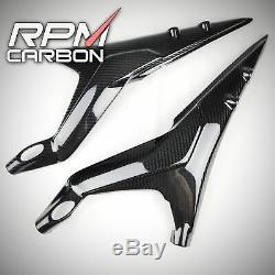 Ducati Panigale V4 / V4S / V4R Carbon Fiber Full Subframe Covers Glossy Twill