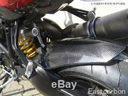 Ducati Streetfighter TWILL Carbon Fiber Rear Hugger/Rear Fender
