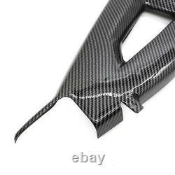 For 2011-2016 Kawasaki ZX10R Carbon Fiber Swingarm Cover Guard, Twill Weave