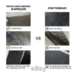 For 2015-2018 BMW S1000RR S 1000 RR Frame Cover Fairing 100% Carbon Fiber Twill
