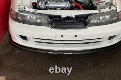 For 94-01 Honda Integra DC2 ITR Style Carbon Fiber Twill Front Lip JDM