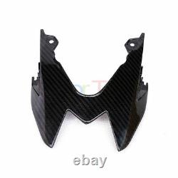 For BMW S1000RR 2015-2018 Twill Carbon Fibre Rear Seat Light Cover Panel Glossy