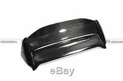 For Honda 02-05 Civic EP3 Muge Style Spoiler FRP+CF Hatchback Roof Wing (USDM)