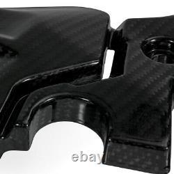 For KAWASAKI NINJA 400 2019 Engine Cover Protection Gloss Twill Carbon Fiber
