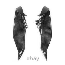 For YAMAHA R1 2020 Upper Side Fairings Cover 100% Carbon Fiber Twill Gloss