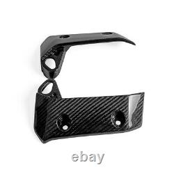 For Yamaha MT07 2018+ Carbon Fiber Side Radiator Guards Cowl Covers Twill Weave