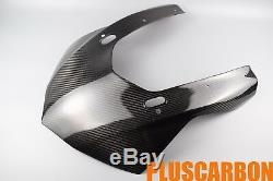 Front Fairing YAMAHA R1 2015-2018 Twill Carbon Fiber Upper Nose Fairing GLOSSY