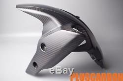 Front Fender Ducati Hypermotard Hyperstrada 821 939 Twill Carbon Fiber Matt