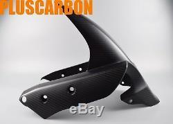 Front Fender Ducati Multistrada 1200 Enduro Twill Carbon Fiber Front Mudguard