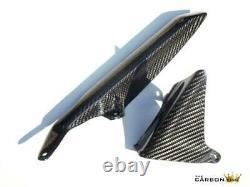 Honda Cbr1000rr 2004-07 Carbon Chain Guard In Twill Gloss Weave Fibre Fiber