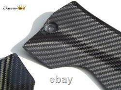 Honda Cbr1000rr 2008-11 Carbon Fibre Inner Fairing Trims In Twill Gloss Weave